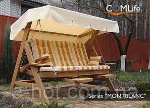 Садовая качель Montblanc PREMIUM