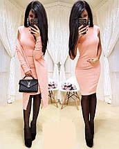 Комплект короткое платье и кардиган из ангоры sh-013 (42-56р, разные цвета), фото 2