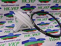 Ремкомплект для стиральной машины полуавтомат (Редуктор под квадрат, крепление на 4 болта, ремень A 675 E)