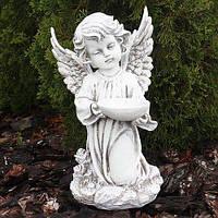 Ангел BST 480257 34 см белый