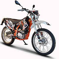 Мотоцикл KAYO T2-250 Белый