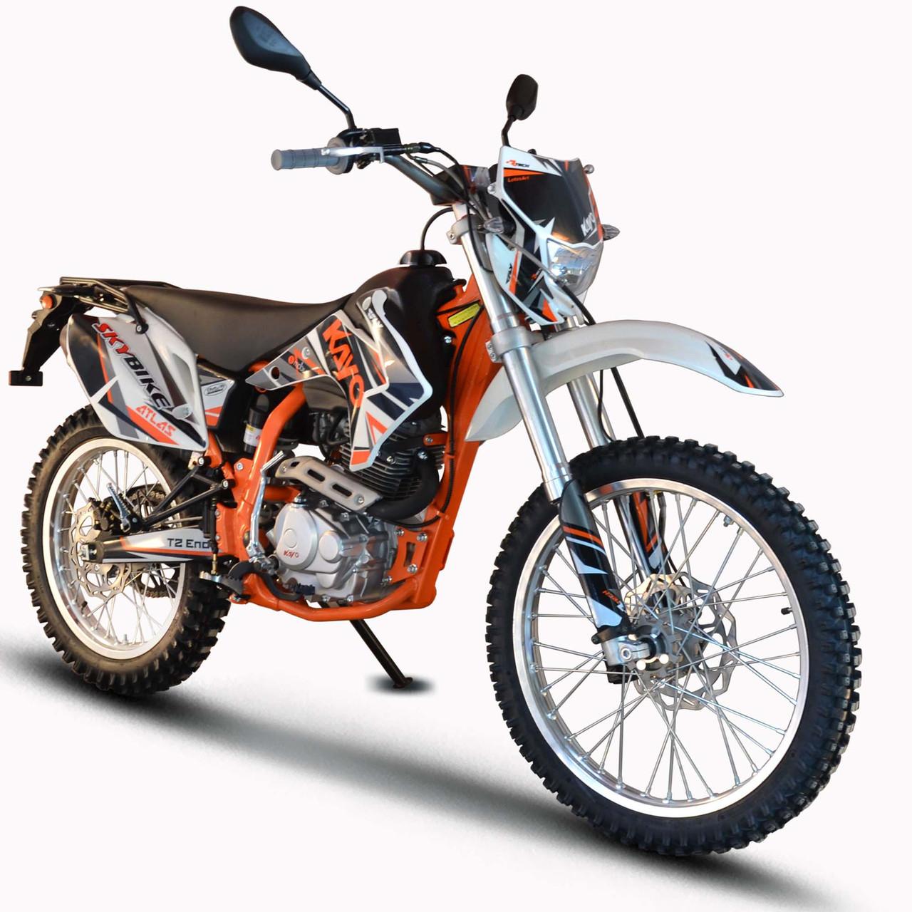 Мотоцикл KAYO T2-250 Белый, фото 1