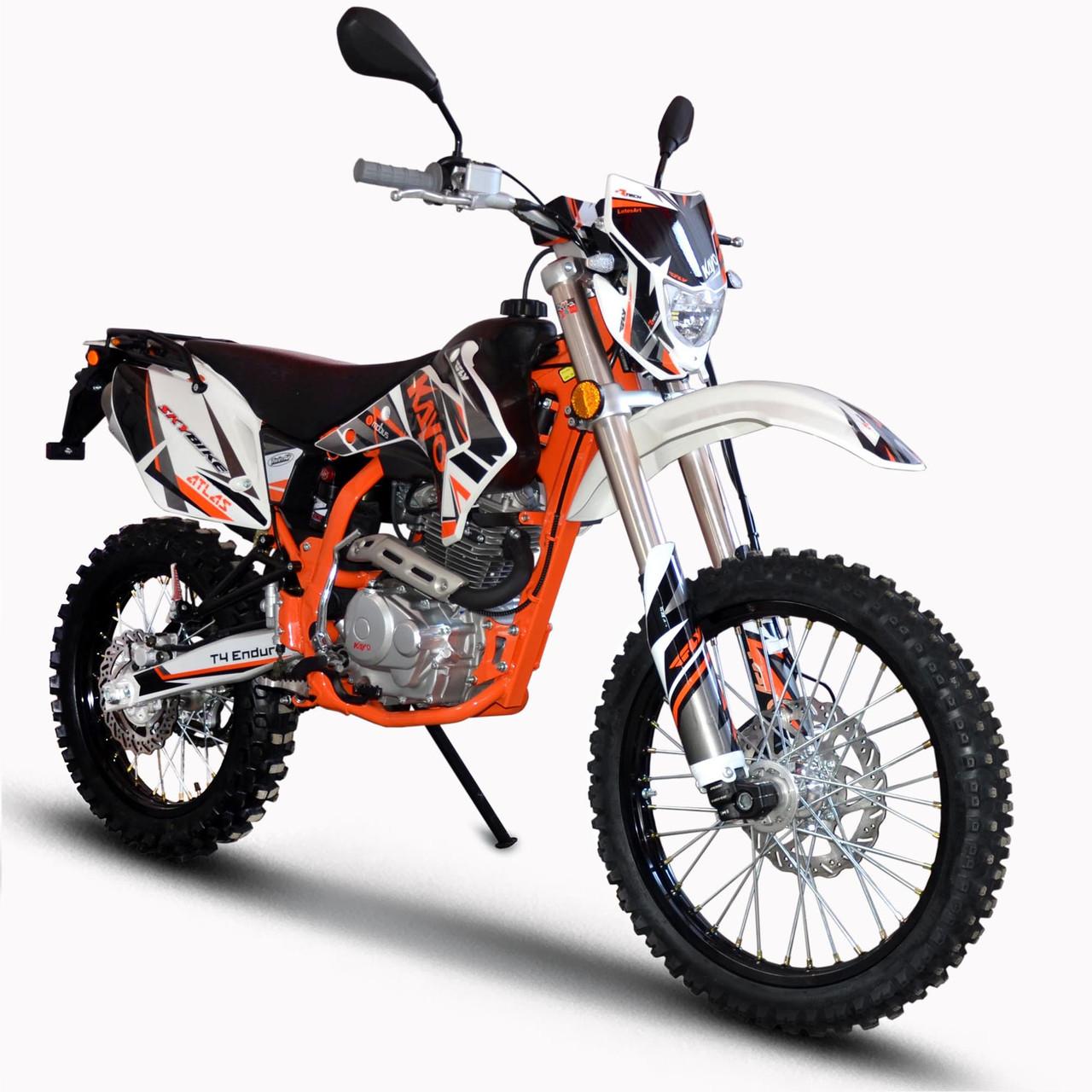 Мотоцикл KAYO T4-250 Белый