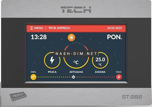 Комнатный регулятор температуры Tech ST-282