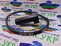 Ремкомплект для стиральной машины полуавтомат (конденсатор CBB60 спаренный, ремень A 675 E оригинал), фото 1