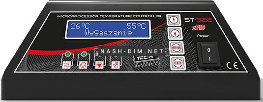 Автоматика для твердотопливных котлов Tech ST-322 zPID