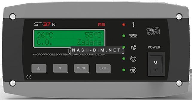 Автоматика для твердопаливних котлів Tech ST-37n RS