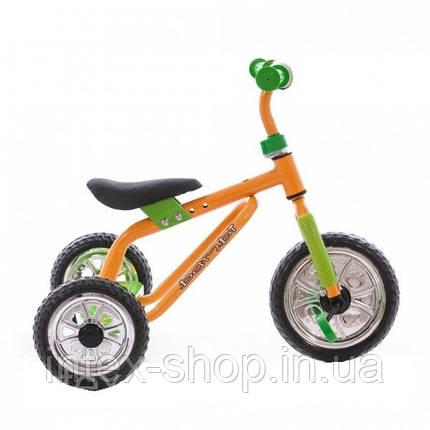 Трехколесный велосипед Profi Trike M 0688-1 Желто-зеленый, фото 2