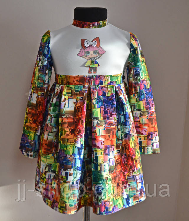Платье для малышей с куколкой Лол