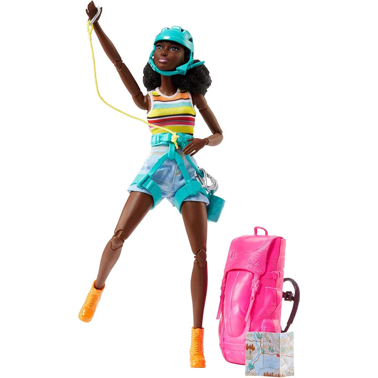 Барби Скалолазка Афроамериканка