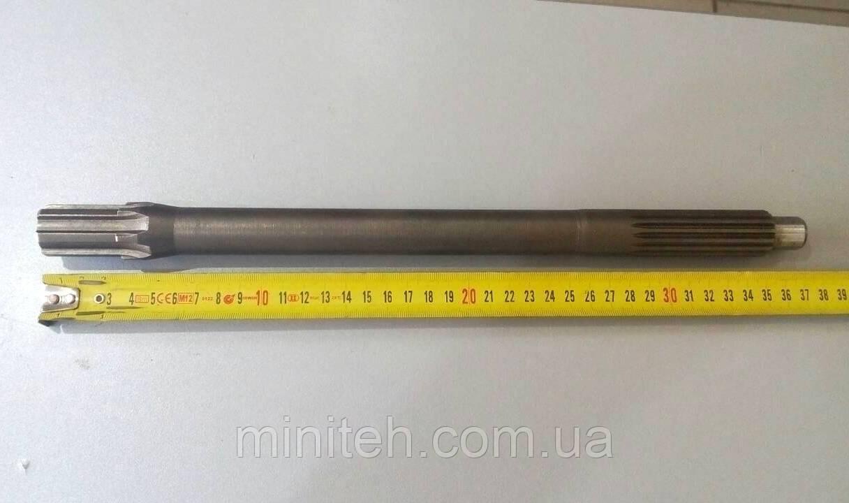 Вал первичный ХТ (L- 370 mm,  Z-6/15)