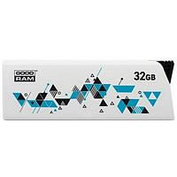 Флеш пам'ять 32GB USB 2.0 GOODRAM 32GB Cl!ck (UCL2-0320W0R11) White (UCL2-0320W0R11)