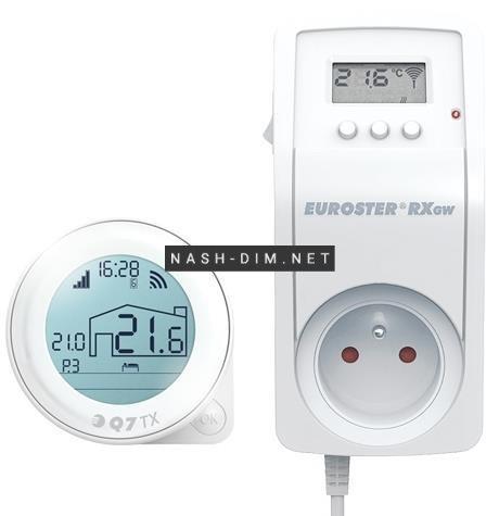 Кімнатний регулятор температури Euroster Q7TXRXGW