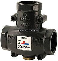 Трехходовой смесительный клапан Esbe VTC511 55°C DN32 1 1/4