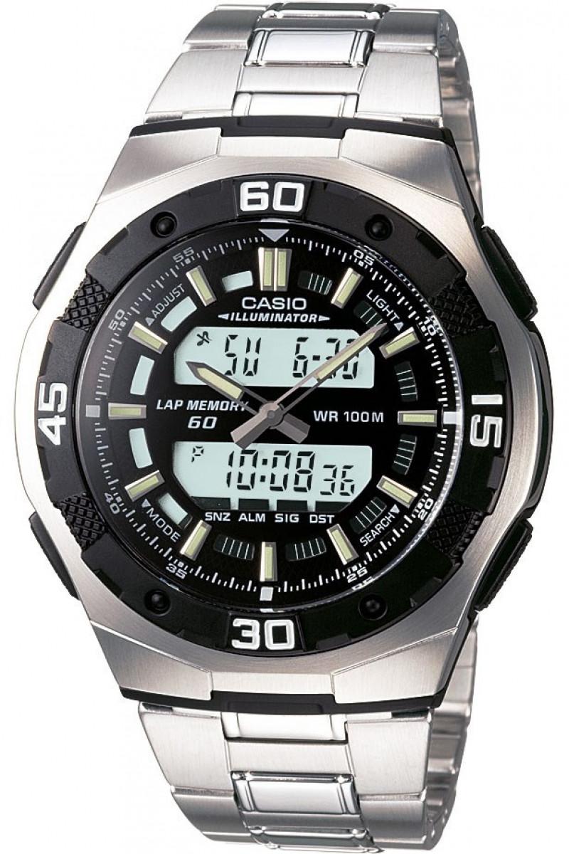 Часы наручные мужские Casio AQ-164WD-1AVEF (модуль №4396)