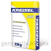 Шпаклевка KREISEL 660 известковая, 25 кг