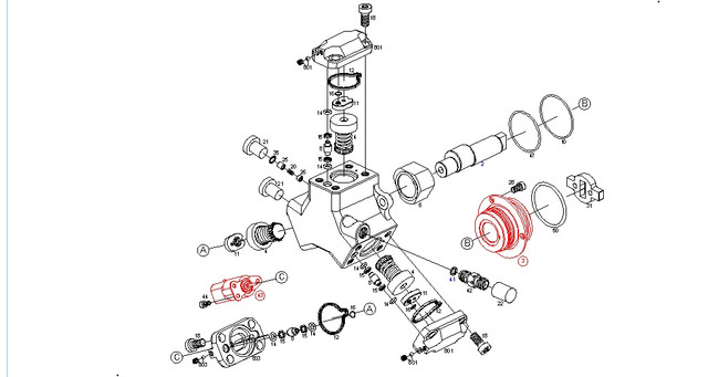 Детали топливных насосов Bosch Common Rail
