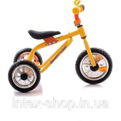 Трехколесный велосипед Profi Trike M0688-2 Оранжево-желтый