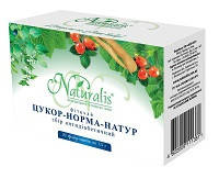 Сахар-норма-Натур -  фиточай для нормализации сахара в крови (Натуралис)