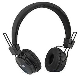 Бездротові Bluetooth стерео навушники НЯ X3 з МР3 і FM чорний
