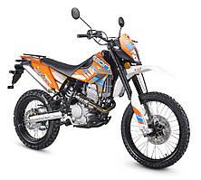 Мотоцикл GEON Dakar 250 TwinCam Оранжевый