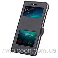 Чехол книжка Momax для Samsung Note 4 N910 N910H Черный