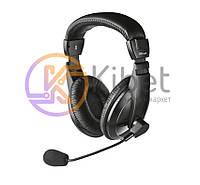 Гарнитура Trust Quasar Headset (16976) Black, закрытые, USB, кабель 2.5м