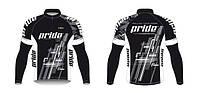 Джерси длинный рукав Bicycle Line Pride Team размер M черный