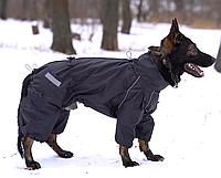 0c166e4c46e2 Одежда Комбинезон для Собак больших пород HUNTER, Дождевик, черный, без  подкладки