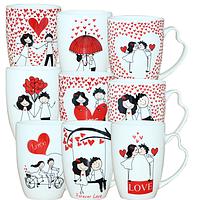 Чашка 'Первая любовь' 340мл 0400171