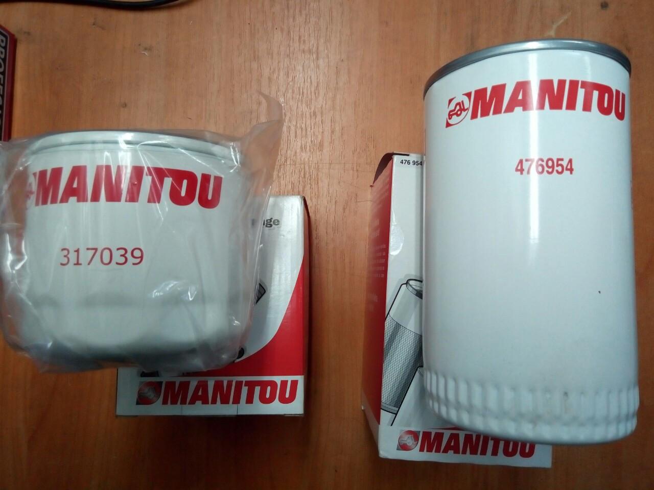 Фильтра  на Manitou