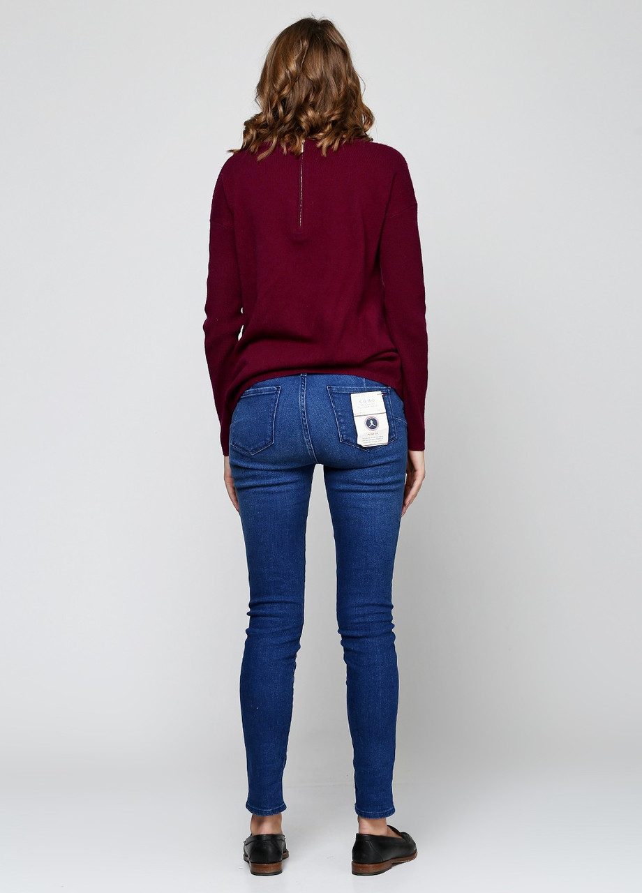 652a55c30f9 Джинсы женские TOMMY HILFIGER цвет синий размер 29 32 30 32 арт WW0WW17981