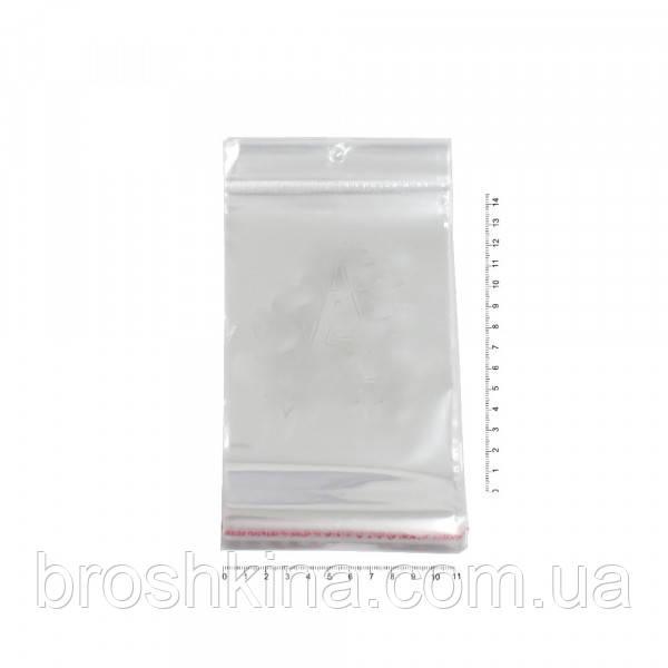 Упаковочные пакеты 11*14,5 см еврослот с клейкой лентой 100 шт/уп