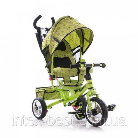 Трехколесный велосипед Profi Trike М 5363-2-1 Eva Foam Зеленый, фото 2