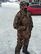 Двухсторонний осенний костюм для охоты Hillman Forest Green/Beyond Vision