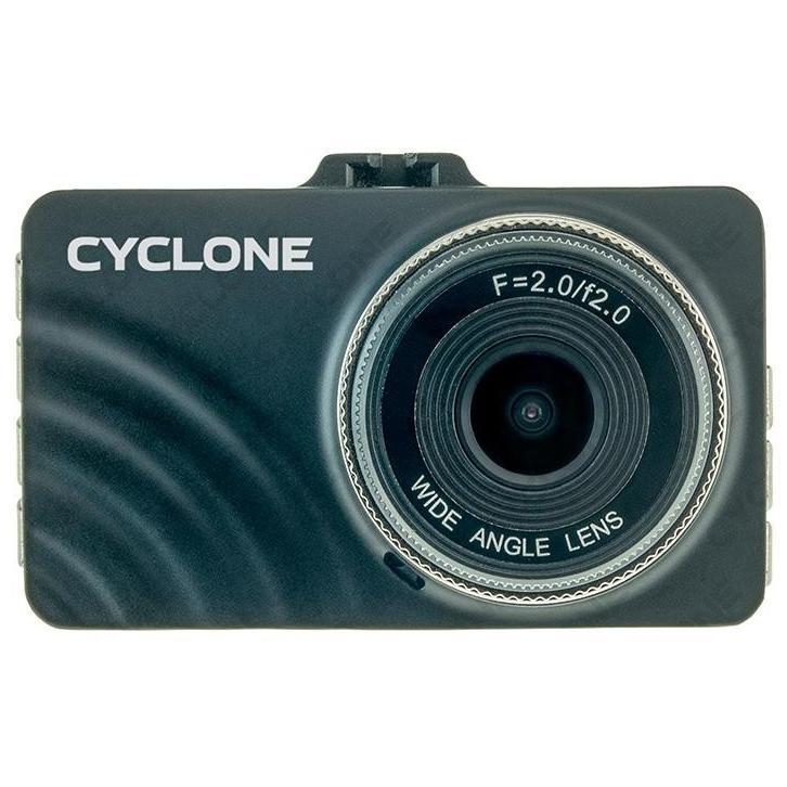 """Видеорегистратор  Full HD (1920x1080)  Cyclon  диспл. 3,0"""", 170°, до 64 Гб microSD"""