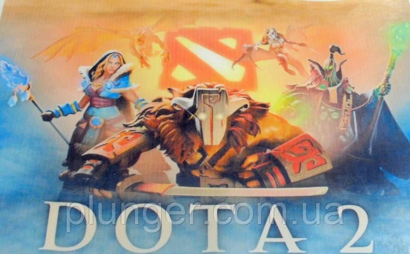 """Вафельная картинка для торта """"DOTA 2"""", (лист А4)"""