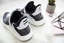 Чоловічі кросівки Adidas Human Race NMD Pharrell Oreo AC7359, Адідас НМД, фото 3