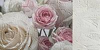 Фотошпалери Троянди на атласі №16996 Фреска, Екосольвентна