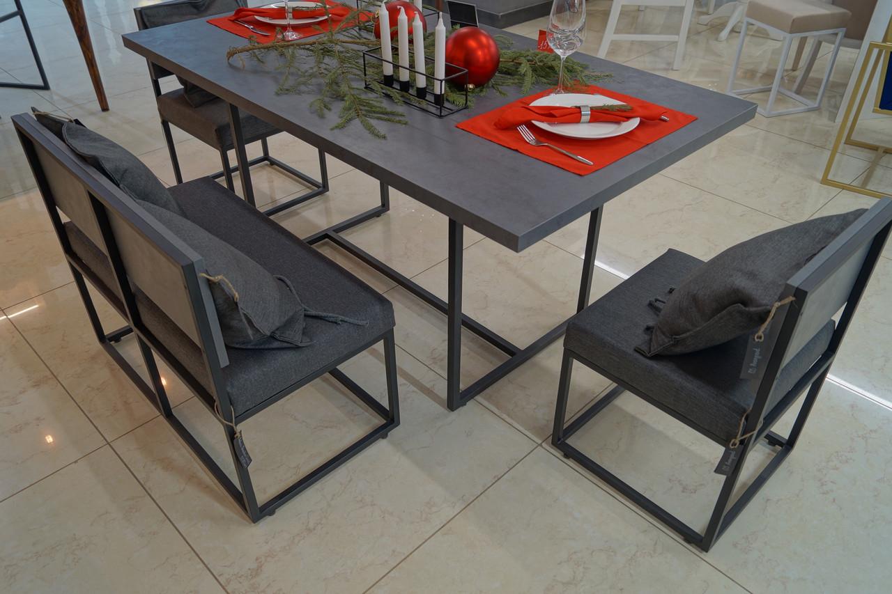 Стол обеденный Quadro Oxid