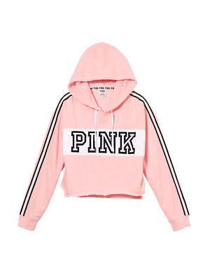 Спортивная кофта Victoria's Secret Pink Cropped Pullover S, Розовый