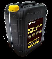 Масло гидравлическое WOG HYDROMAX L-HV 46  20 л