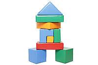 Мягкий игровой конструктор KIDIGO™ Строитель-8 с пвх ткани для детей с пвх ткани