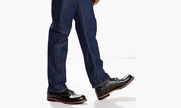 Джинсы Levi's 501 RINSE темно-синий, фото 3