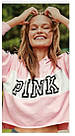 Спортивна кофта Victoria's Secret Pink Cropped Pullover S, Рожевий, фото 2