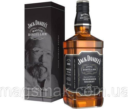 Виски Jack Daniels Tennessee Master Distiller №5 43% 0.7л, фото 2