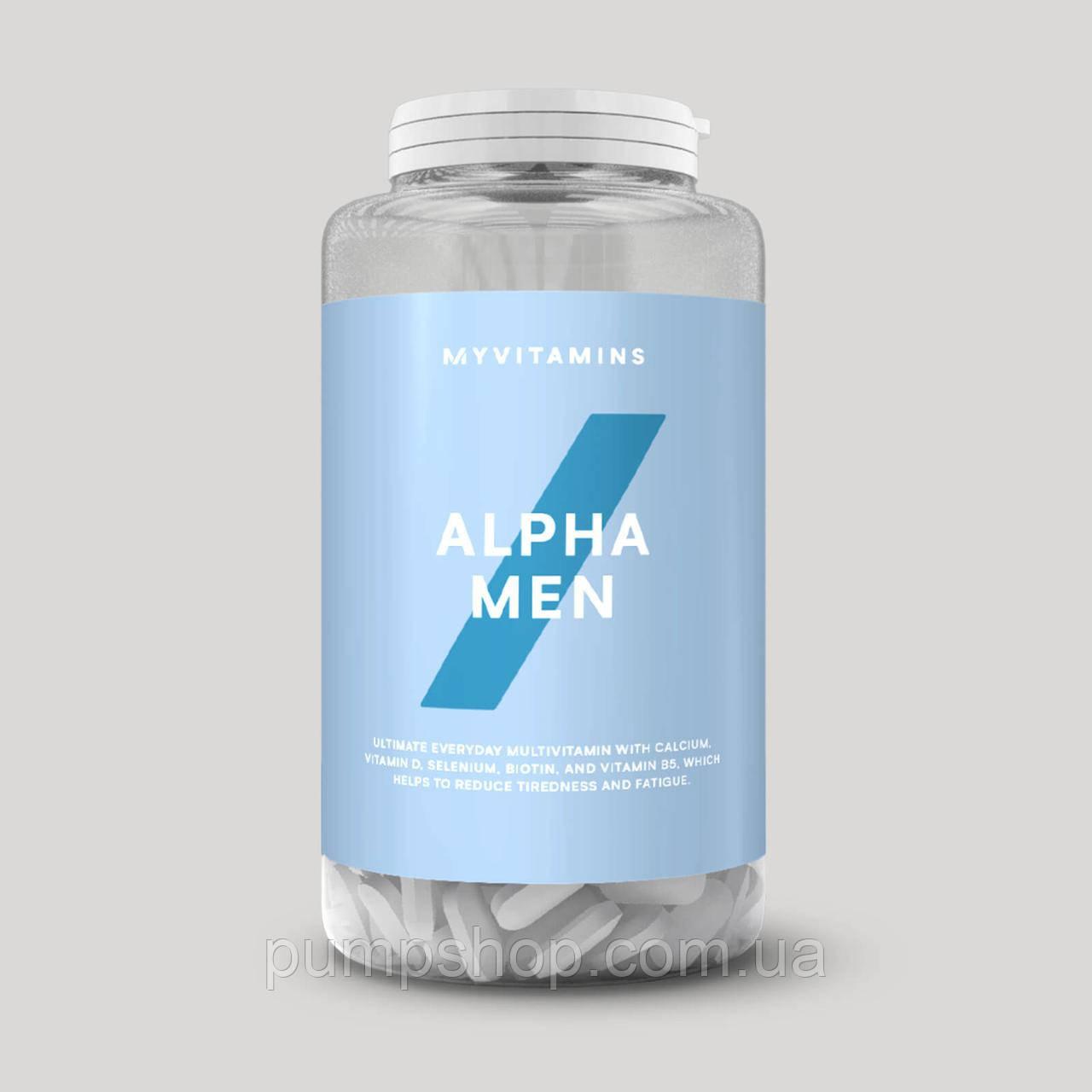 Вітаміни для чоловіків Myprotein ALPHA MEN 240 табл.