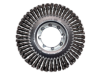 Дисковая щётка OSBORN D115x13 мм, жгутовая стальная проволока 0,50 мм