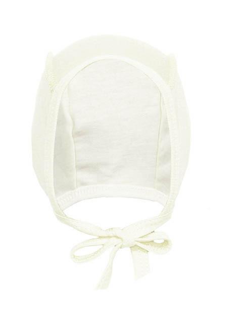 Чепчик молочный для новорожденных кулир