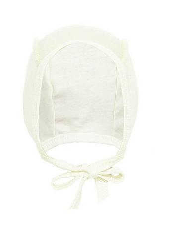 Чепчик молочный для новорожденных кулир , фото 2